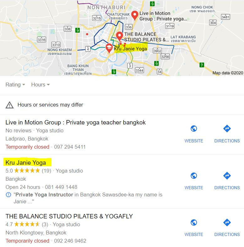 bangkok seo map packs results krujanie lmndevelopment